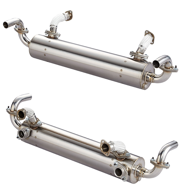 Stainless Steel Muffler German Motor Works Vw